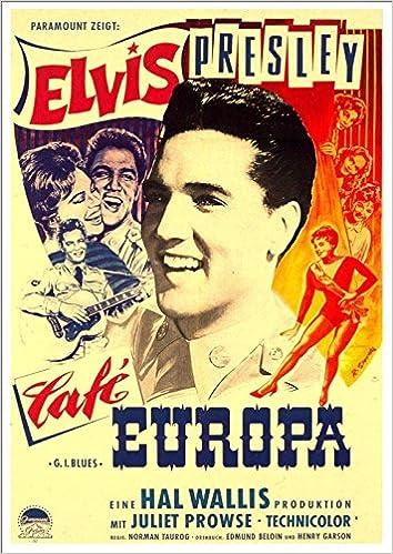 d7aa298d5d80f Elvis Presley - G.I. Blues, 1960' (German Poster - Cafe Europa ...