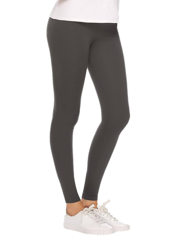 Aibrou Damen Leggings Sport Yoga Fitness Hosen Jogginghose Trainings Strumpfhosen