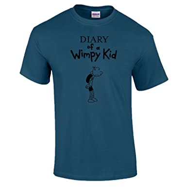 94e65b2e4 Diary of a Wimpy Kid World Book Day T-Shirt Outfit Costume Adults Indigo  Blue - 2XL: Amazon.co.uk: Clothing