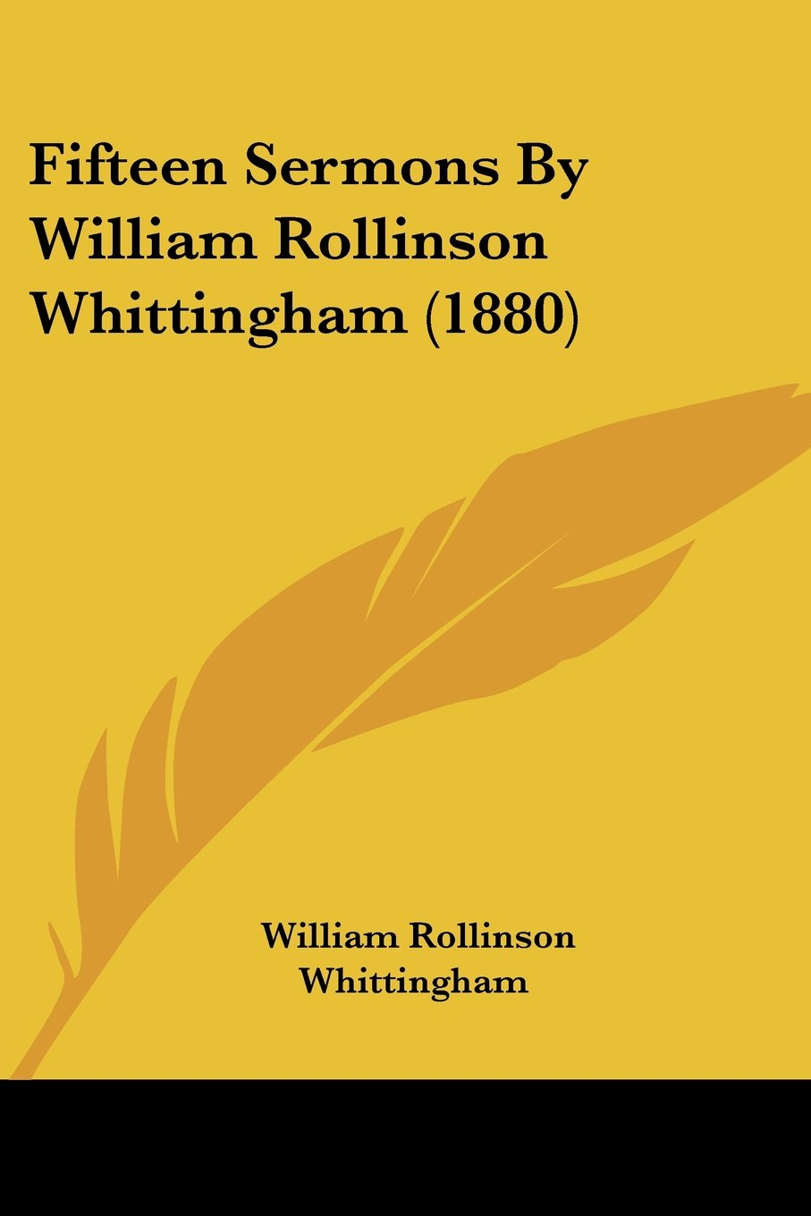 Download Fifteen Sermons By William Rollinson Whittingham (1880) ebook