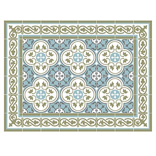 Pvc 178-4 placemats Tile decoration design table decoration [並行輸入品]   B07J4QMRTY