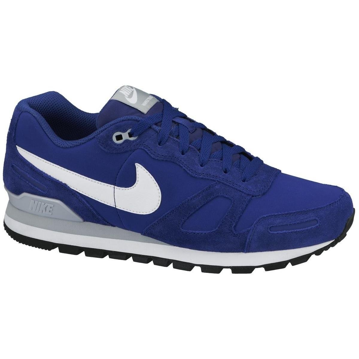 release date: b68d3 481f6 Nike Men's Air Waffle Trainer Leather Footwear-Blue/White/Grey, Size 7.5,  UK: Amazon.co.uk: Sports & Outdoors