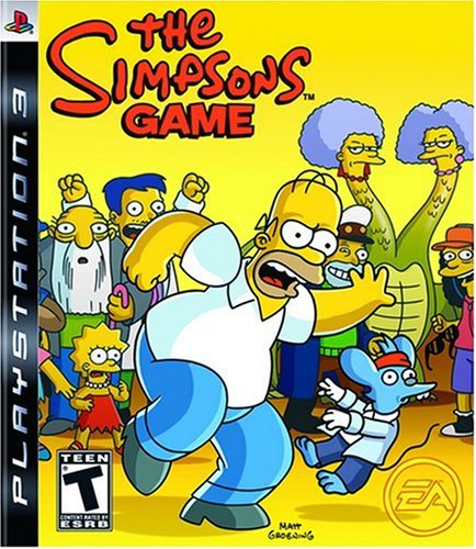 The Simpsons Game (Simpsons Psp Game)