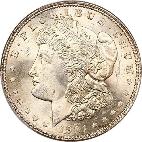 1921 P Morgan Dollars Morgan Dollar MS64 PCGS ()
