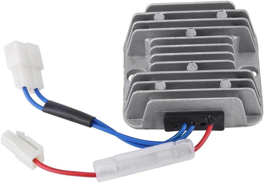 Regulador de voltaje, 12V DC 178F / 186F Regulador del voltaje rectificador AVR para KDE3500 5000 6500 6700 generador