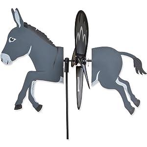 "DONKEY Petite Garden Stake Wind Spinner by Premier Kites & Designs-19.75""w"