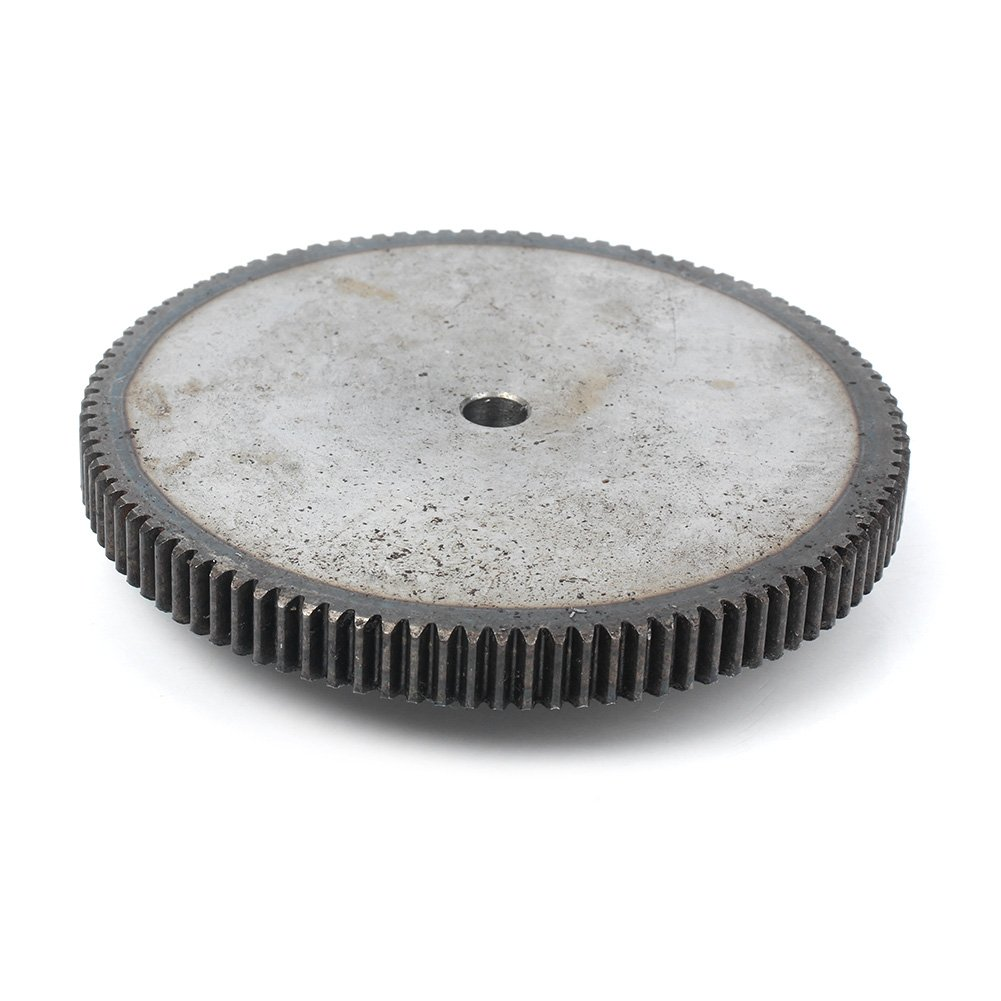 di/ámetro de paso 30 mm GZYF 1 M/ódulo 100T 8 mm Motor de Orificio Metal 45# Rueda de engranaje de acero para hardware de motor
