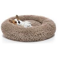 MIXJOY Orthopedic Dog Bed Comfortable Donut Cuddler Round Dog Bed Ultra Soft Washable…