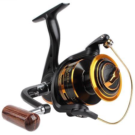 Dr.Fish Spinning Fishing Reel Freshwater Bass Fising 1000-6000 9 1 Japan Drag Washer Max 27Lb Drag X-STR Bearings