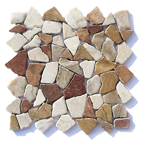 M 005 Marmor Onyx Mediterran Naturstein Bad   Fliesen Lager Verkauf  Stein Mosaik Herne NRW: Amazon.de: Baumarkt
