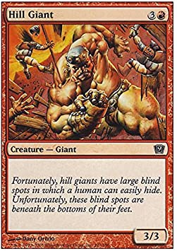 Magic: the Gathering - Hill Giant - Ninth Edition by Magic: the Gathering: Amazon.es: Juguetes y juegos