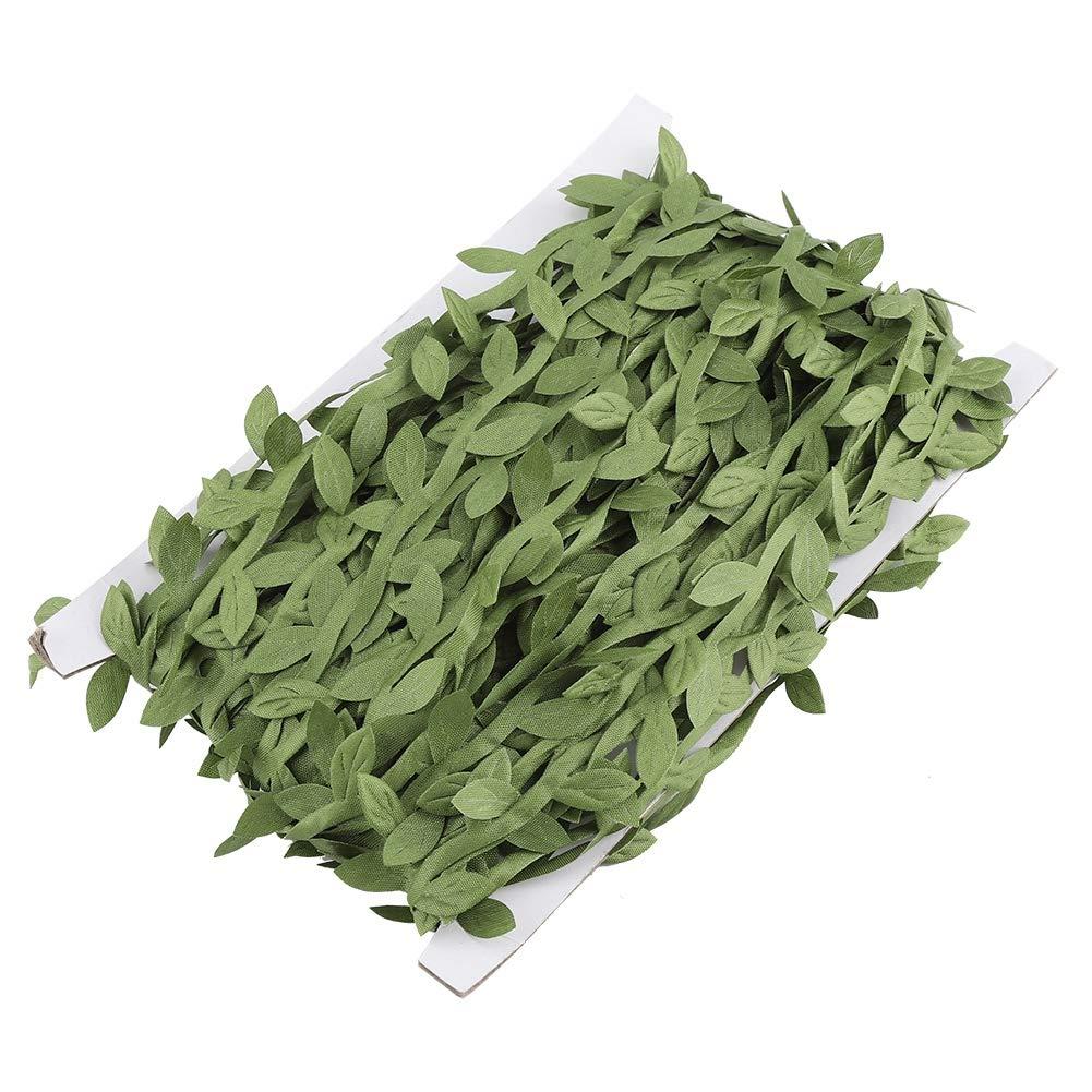 Green Leaf Vine, Haofy Green Leaves Foglia Trim Vine Wreath Party Ornamenti fai da te Wedding Party Home Decor