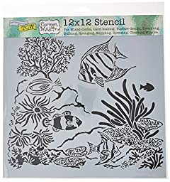 Crafters Workshop TCW611 Template, 12\