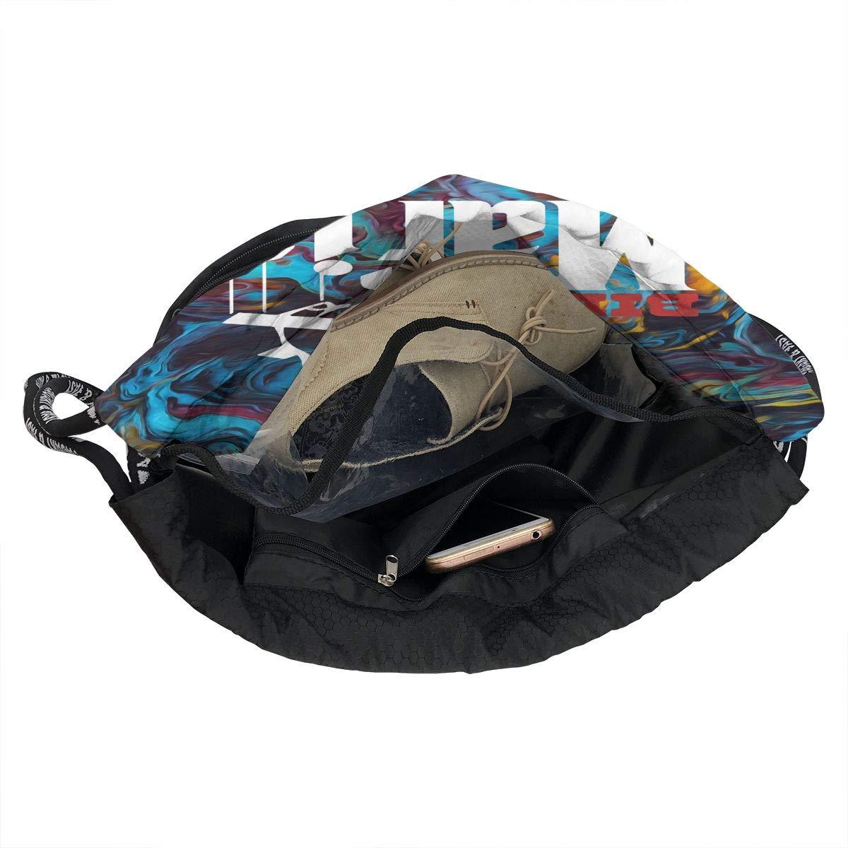 Drawstring Bag Bills-Mafia Gym Bag Sport Backpack Shoulder Bags Travel College Rucksack