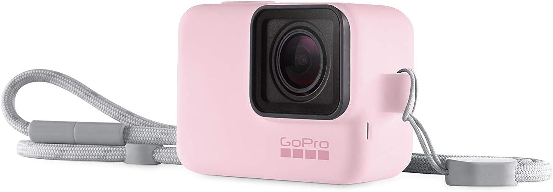 Pink GoPro Hero 5//6//7 Sleeve and Adjustable Lanyard Kit