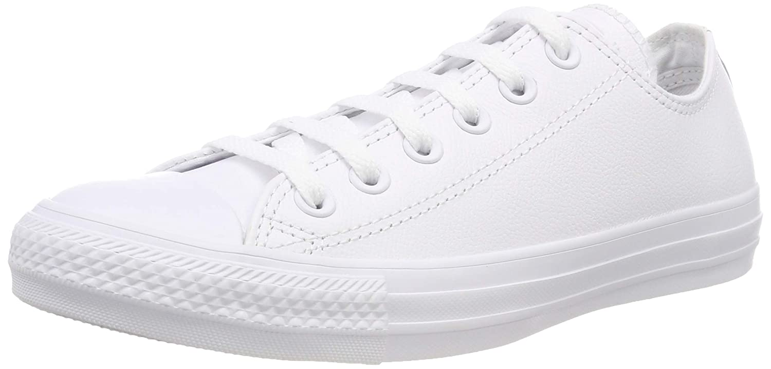 05937d517ad Converse Unisex Adults  Ct Mono Ox Trainers White Size  5.5 UK   Amazon.co.uk  Shoes   Bags