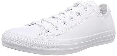 Converse - Zapatillas para mujer, Blanco, 36