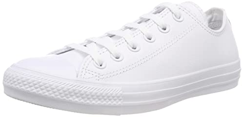 Converse Unisex Adults  Ct Mono Ox Trainers White Size  5.5 UK ... def54b788