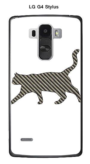 Onozo Carcasa LG G4 Stylus Design Silhouette Gato: Amazon.es ...