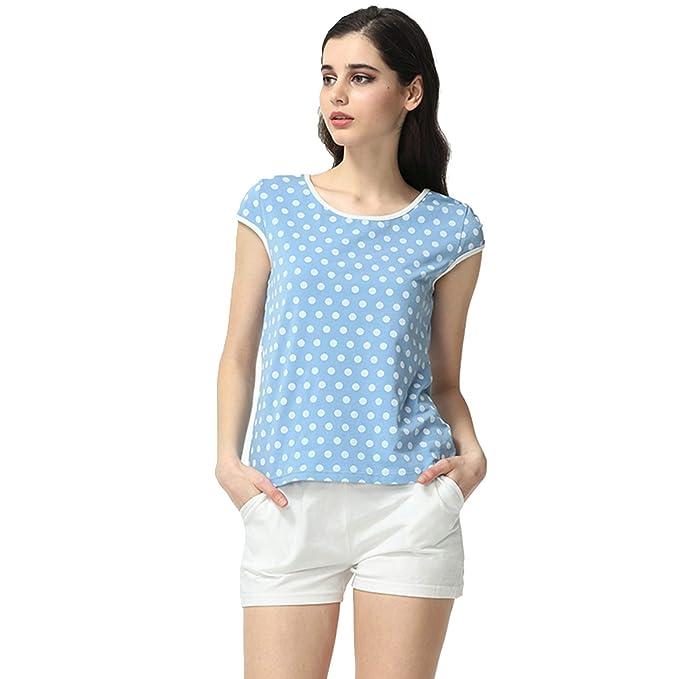 ee2ceeee691a QIANXIU Women s Summer Pajamas