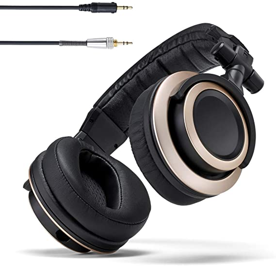 Status Audio CB-1 Closed Back Studio Monitor Headphones with 50mm Drivers - for Music Production
