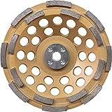 Makita A-96213 Double Row Anti-Vibration Diamond Cup Wheel, 7''