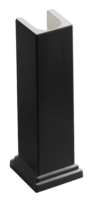 KOHLER K 2767 7 Tresham Bathroom Sink Pedestal, Black
