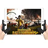 YaLiu 4 Triggers Mobile Game Controller for iPad,Sensitive Shoot Aim Gamepad Trigger for PUBG/Knives Out, Adjustable Gaming H
