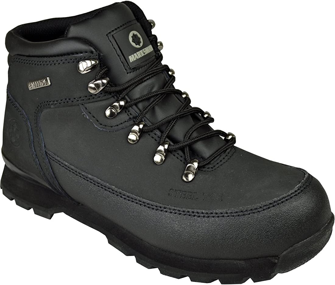 Mens Safety Boots Steel Toe CAPS Ankle