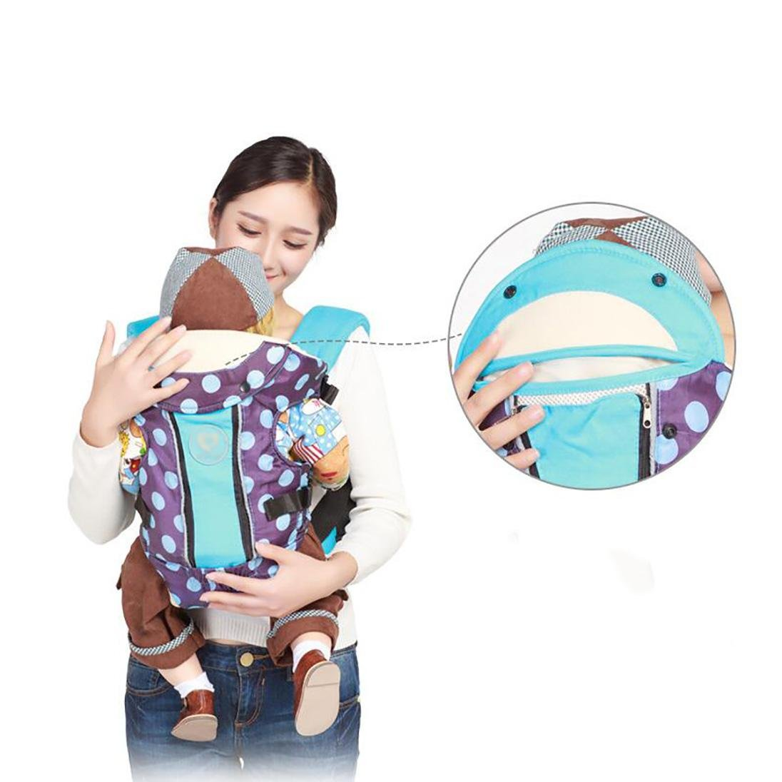 Porte-Bébé Porter Bébé Double Épaule Multifonctionnel Dot Coton Respirant,  Purple (Independent Color Boxed)  Amazon.fr  Commerce, Industrie   Science 0b544ad1f18