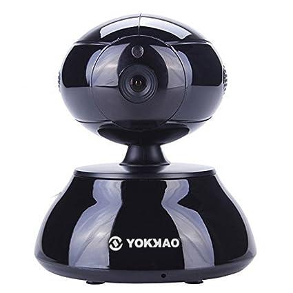 Cámara IP inalámbrica YOKKAO, Cámara de Vigilancia para bebé 720p HD 5x Zoom Digital H