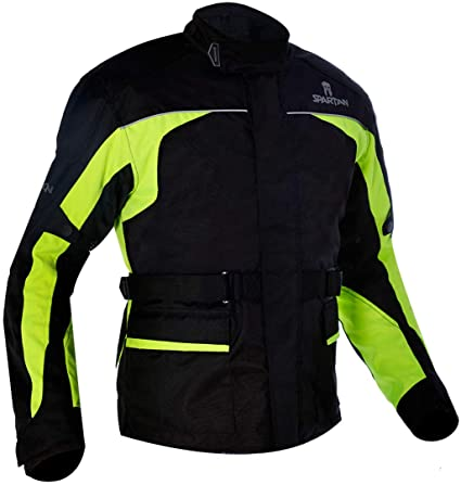 Oxford Chaqueta Larga Spartan Negro/Fluo TG 2 x l: Amazon.es ...