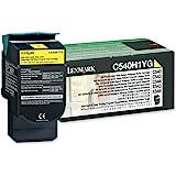 Lexmark C540H1YG C540 C543 C544 X543 X544 Toner Cartridge (Yellow) in Retail Packaging