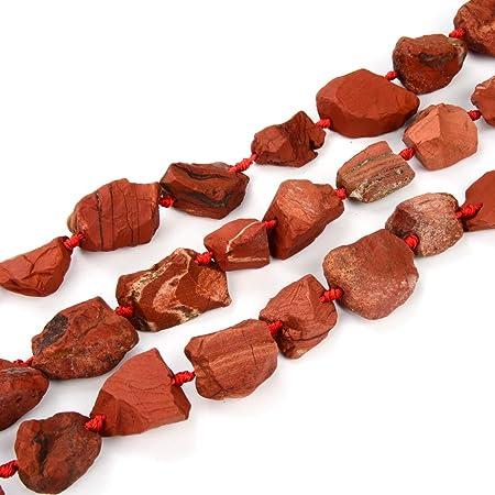 Rough Rectangular Lava Beads