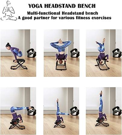 Amazon.com: Soporte de yoga para yoga, silla de yoga, para ...