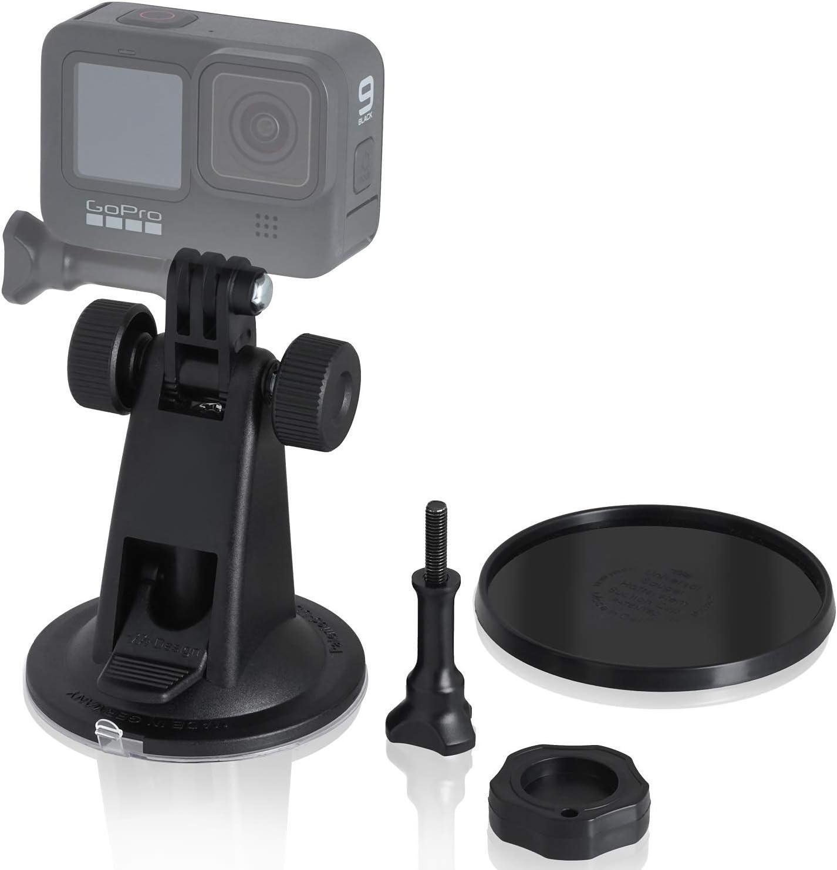 Für Gopro Hero9 Sportkamera Saugnapf-Halterung Metall+Kunststoff Fahrzeughalter