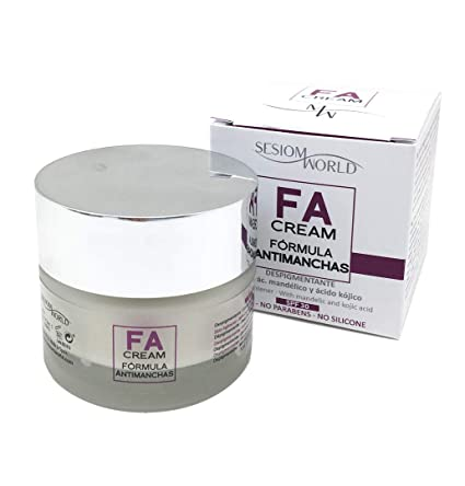 Crema facial FA Despigmentante Fórmula Antimanchas sesiomworld 50ml