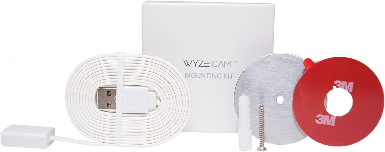 Wyze Labs WYZECMK Wyze Cam Mounting Kit, White