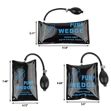 Kit de almohadillas hinchables para abrir puertas Airbag Bomba de ...