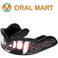 Oral Mart Affascinante, Picasso paradenti - boccaglio Sport Design Personalizzato per la Boxe, (con Custodia Gratuita)
