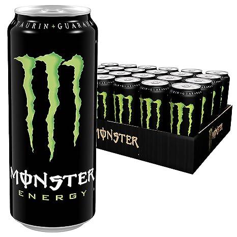 Monster Energy mit klassischem Monster-Geschmack - für gewaltige ...