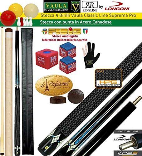 Longoni Vaula Classic Supremo Taco 2pz. cm. 142 arce, punta ...