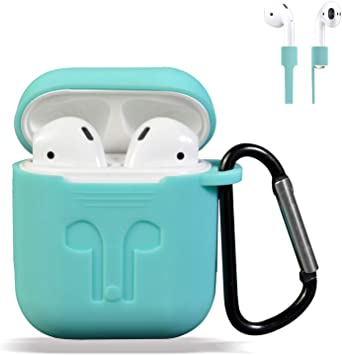 Amazon Com Airpods Case Cover Silicone Protective Case And Skin