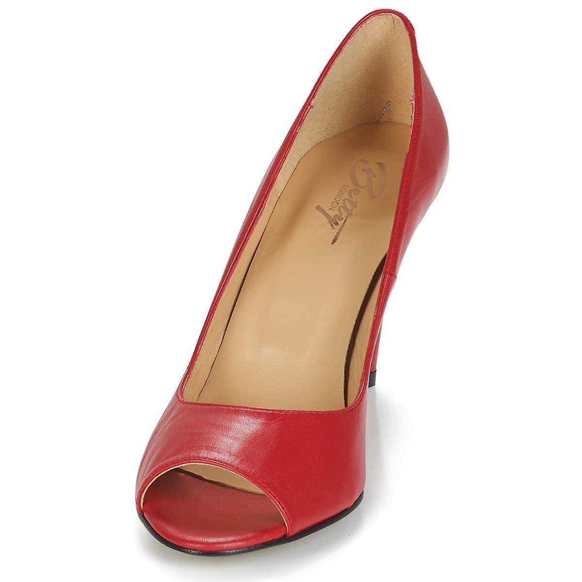 Betty Emana London Emana Betty Pumps Damen Rot Pumps d35d1b