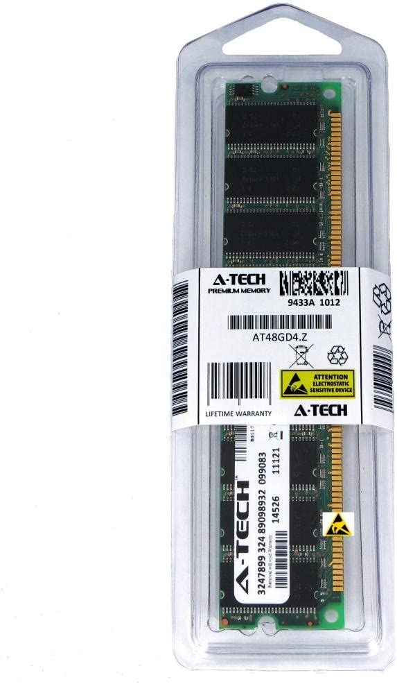 1GB DDR PC2700 Desktop Memory Module (184-pin DIMM, 333MHz) Genuine A-Tech Brand