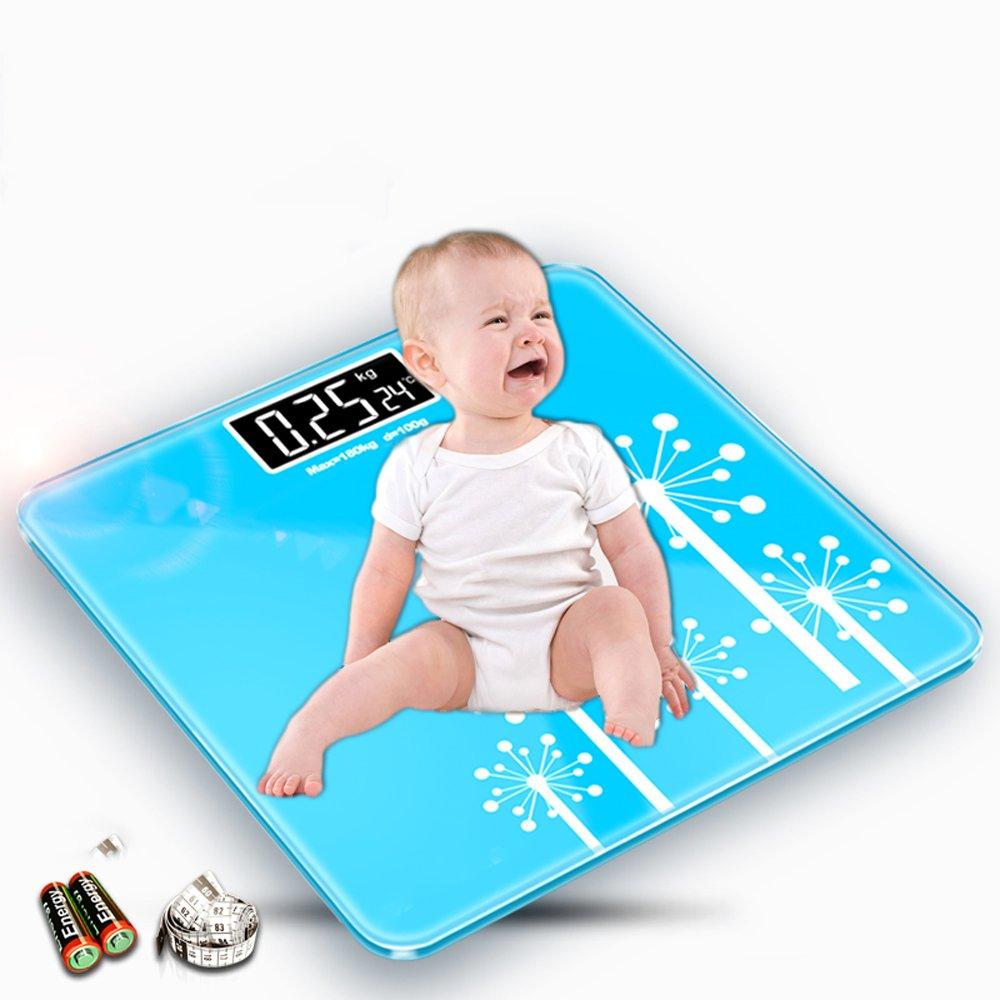 Elektronische Waage ZQ Haushalt Gesundheit Genaue Waage Baby Gewichtsverlust Erwachsene Waagen Babywaagen
