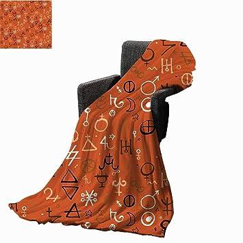 Amazon com: Occult Decor Printing Throw Blanket,Diverse