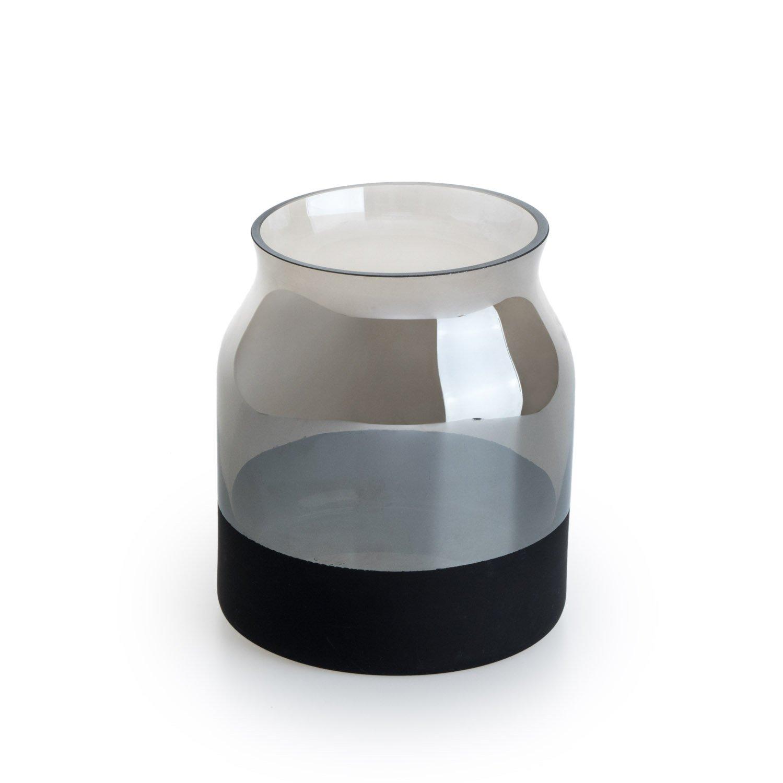 9 9 cm. Black Velvet Studio Verre d/écoratif Vase Brown Vase en Verre Moderne Style Vintage Botella pour Home Office Dimensions Mesa Petit Brown Bouteille Mod/èle 16