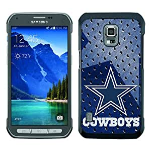 Popular Samsung Galaxy S5 Active Case ,Dallas Cowboys 02 black Samsung Galaxy S5 Active Cover Beautiful And Durable Designed Case