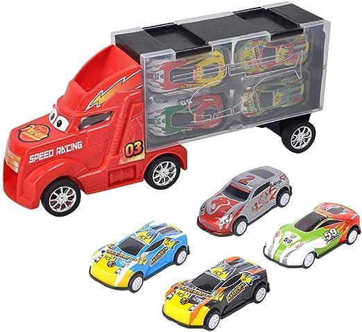 Daxoon camión Transporte vehículo Juguete Coche transportador con ...